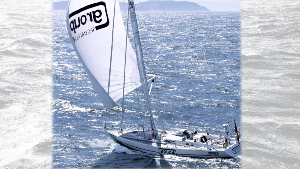 Westabout Record - Group 4 heading south past the Canaries