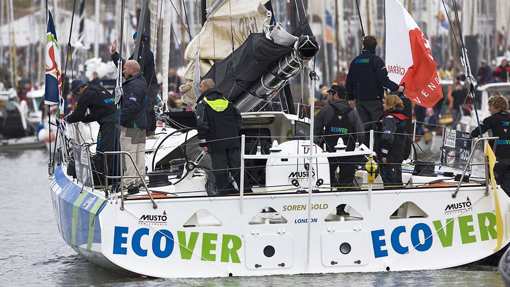 Vendee Globe - departure from the dock
