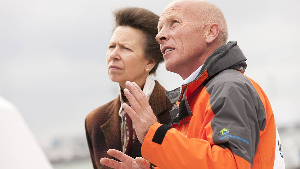 Gamesa naming/dedication Southampton Boat Show- I was honoured once again to have HRH Princess Anne perform the ceremony