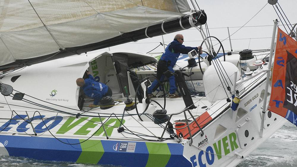 Transat Jacque Vabre - first race outing for Ecover 3