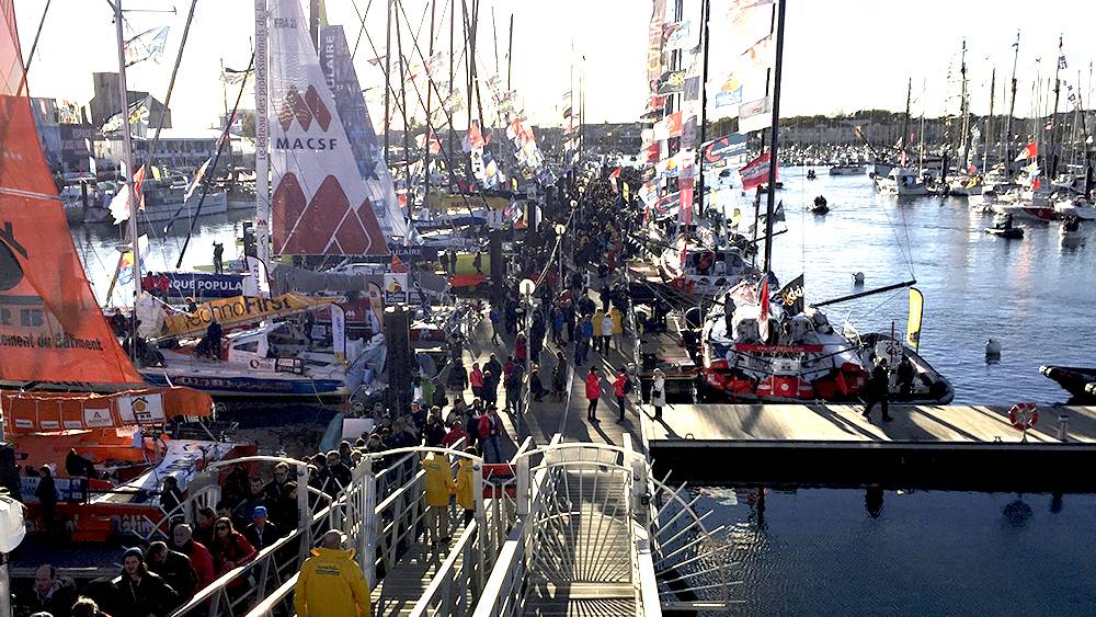 Vendee Globe - pre-race Les Sable D'Olonne, the atmosphere is electric!