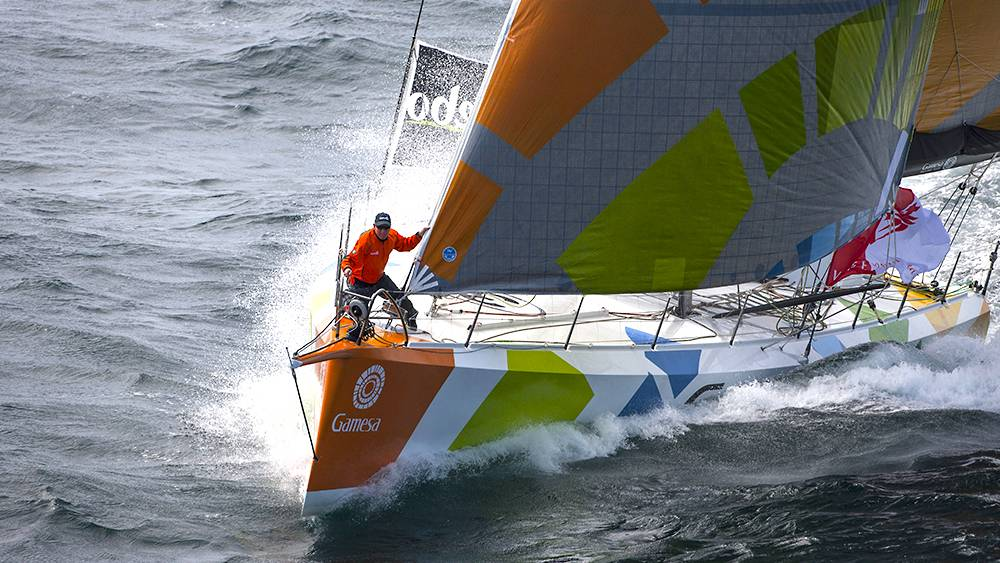 Vendee Globe - photo shoot