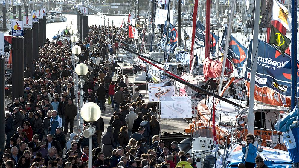 Vendee Globe -3 million visited the village during the three week build up!