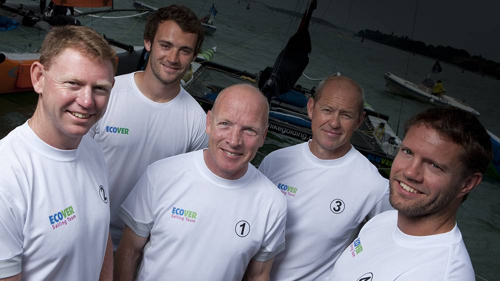 Extreme Sailing Series - Frazier Brown, Nick Houchin, Mike Golding, Bruno Dubois, Will Howden