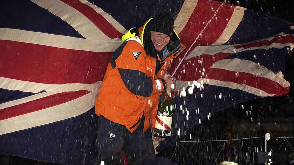 Vendee Globe - one very happy finisher!