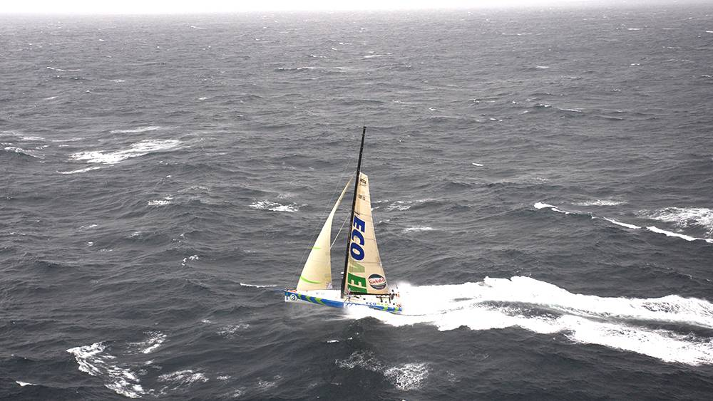 Vendee Globe - ariel photo shoot English Channel