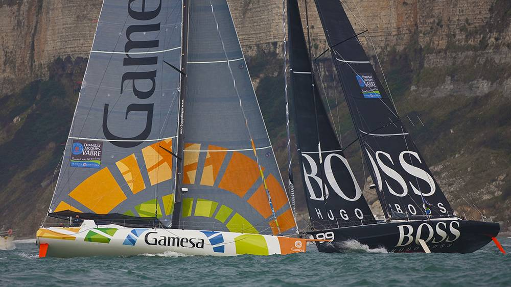 Gamesa - TJV prolouge event Le Havre