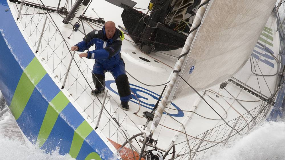 Vendee Globe - training sail